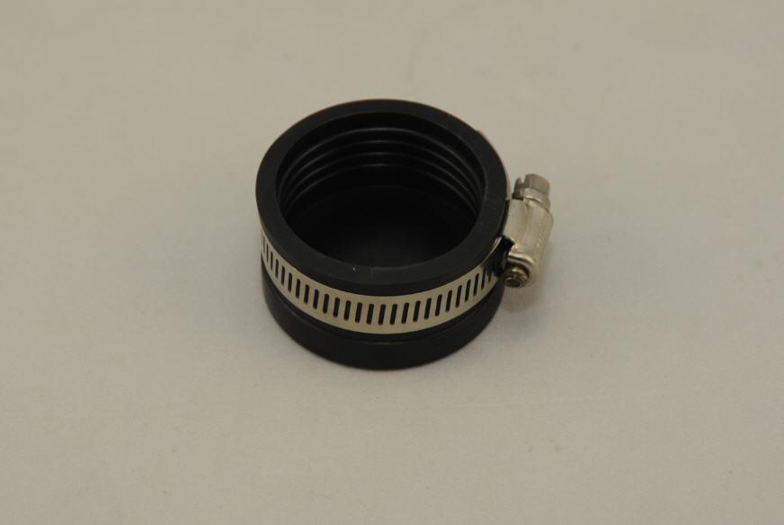 GI - Endkappe 50 mm mit Klemmband