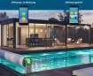 OPEN AERO Pool Rolladen Bsp 6 x 3 m - WEISS