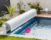 OPEN NEO Pool Rolladen Bsp 10 x 5 m - WEISS